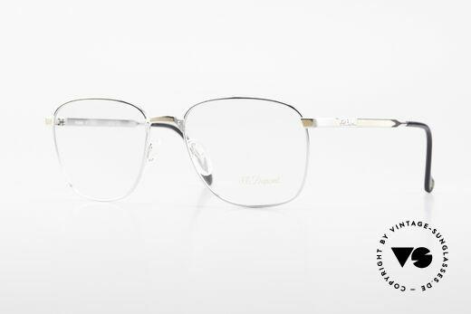 S.T. Dupont D048 90er Luxus Brillenfassung 23kt Details