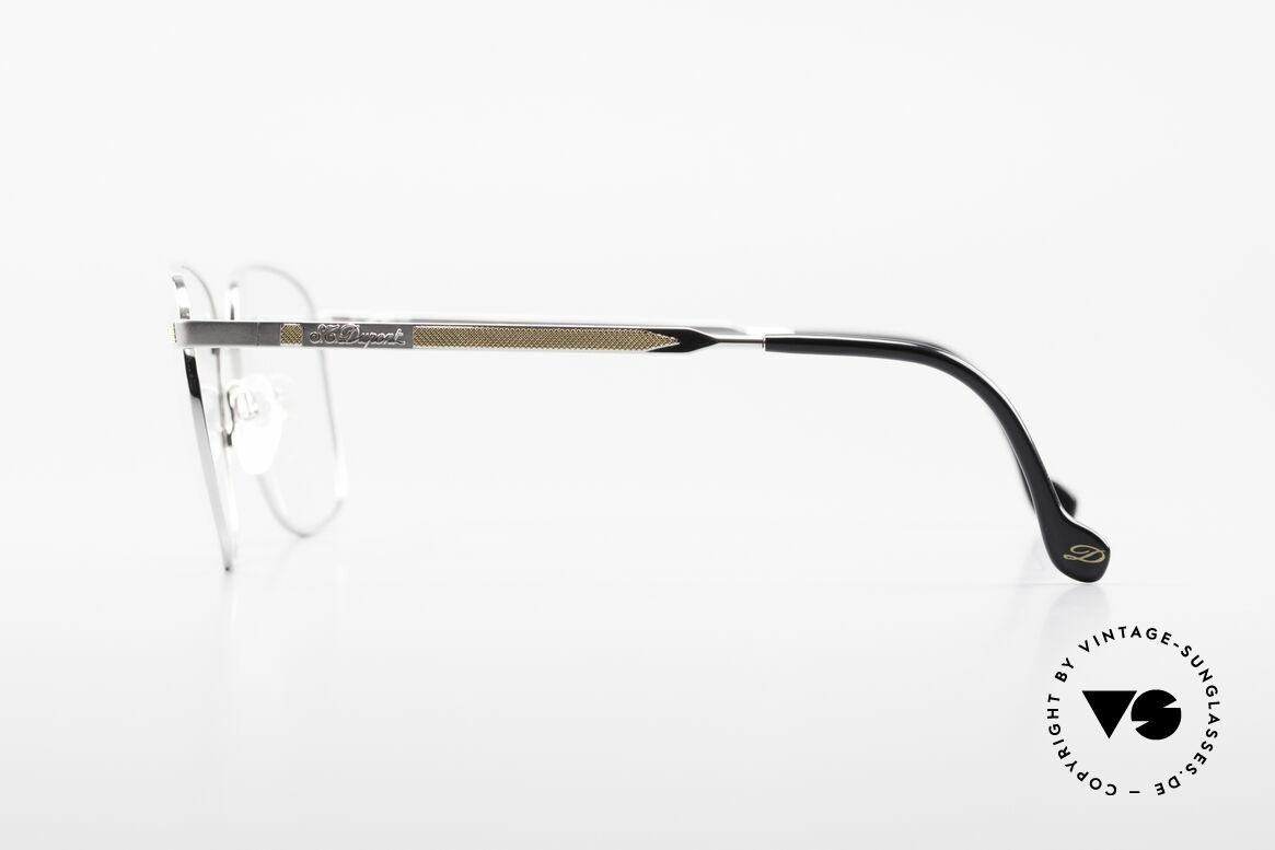 S.T. Dupont D048 90er Luxus Brillenfassung 23kt, inkl. orig. St. Dupont Etui, Putztuch und Verpackung, Passend für Herren