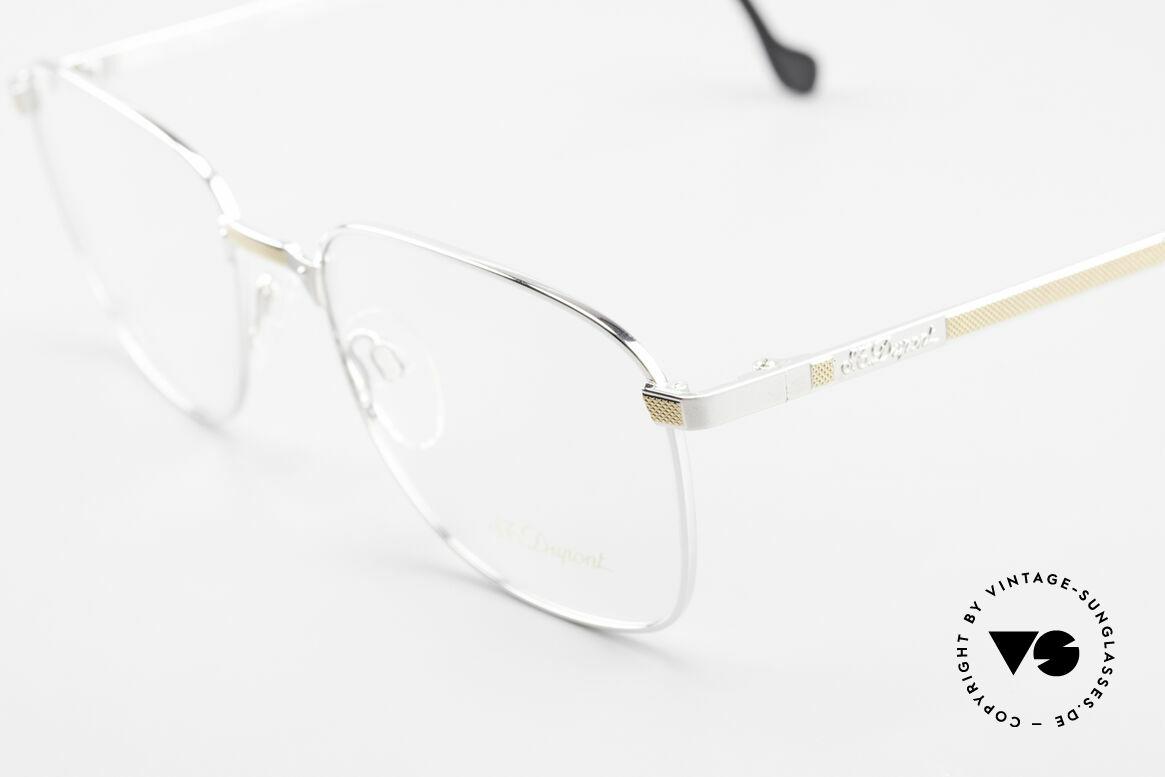 S.T. Dupont D048 90er Luxus Brillenfassung 23kt, ungetragen (wie all unsere Dupont vintage Fassungen), Passend für Herren