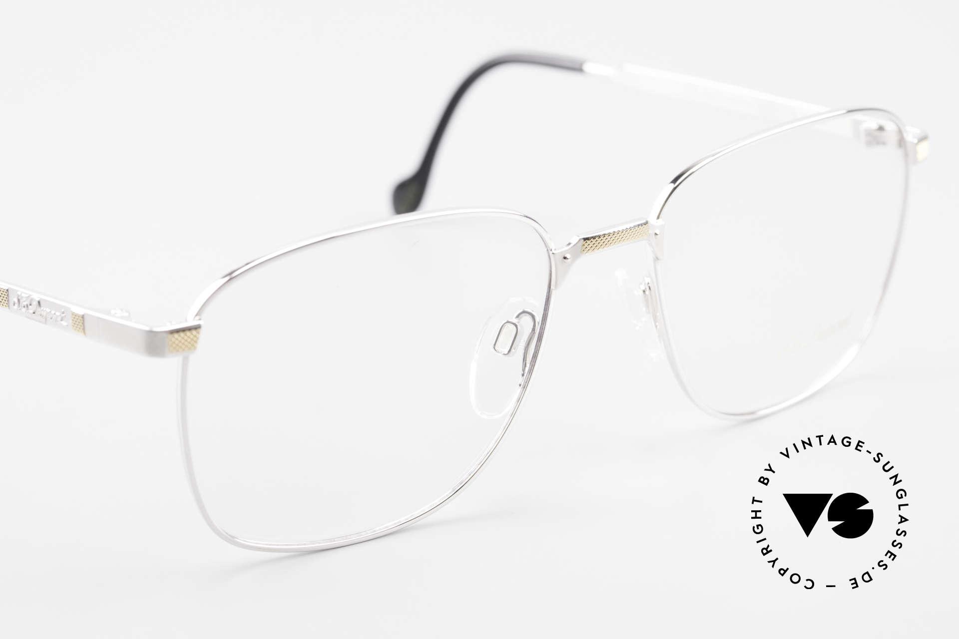 S.T. Dupont D048 90er Luxus Brillenfassung 23kt, KEINE Retrobrille; ein kostbares 90er Jahre ORIGINAL, Passend für Herren