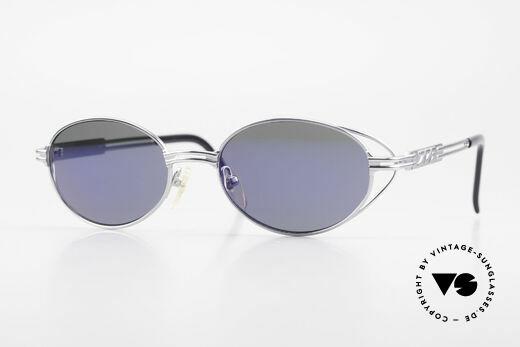 Jean Paul Gaultier 58-6106 Ovale Vintage Sonnenbrille Details