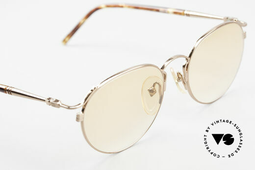 Jean Paul Gaultier 57-2271 Junior Gaultier Vintage Brille, KEINE RETROBRILLE; ein 20 Jahres altes ORIGINAL, Passend für Herren und Damen