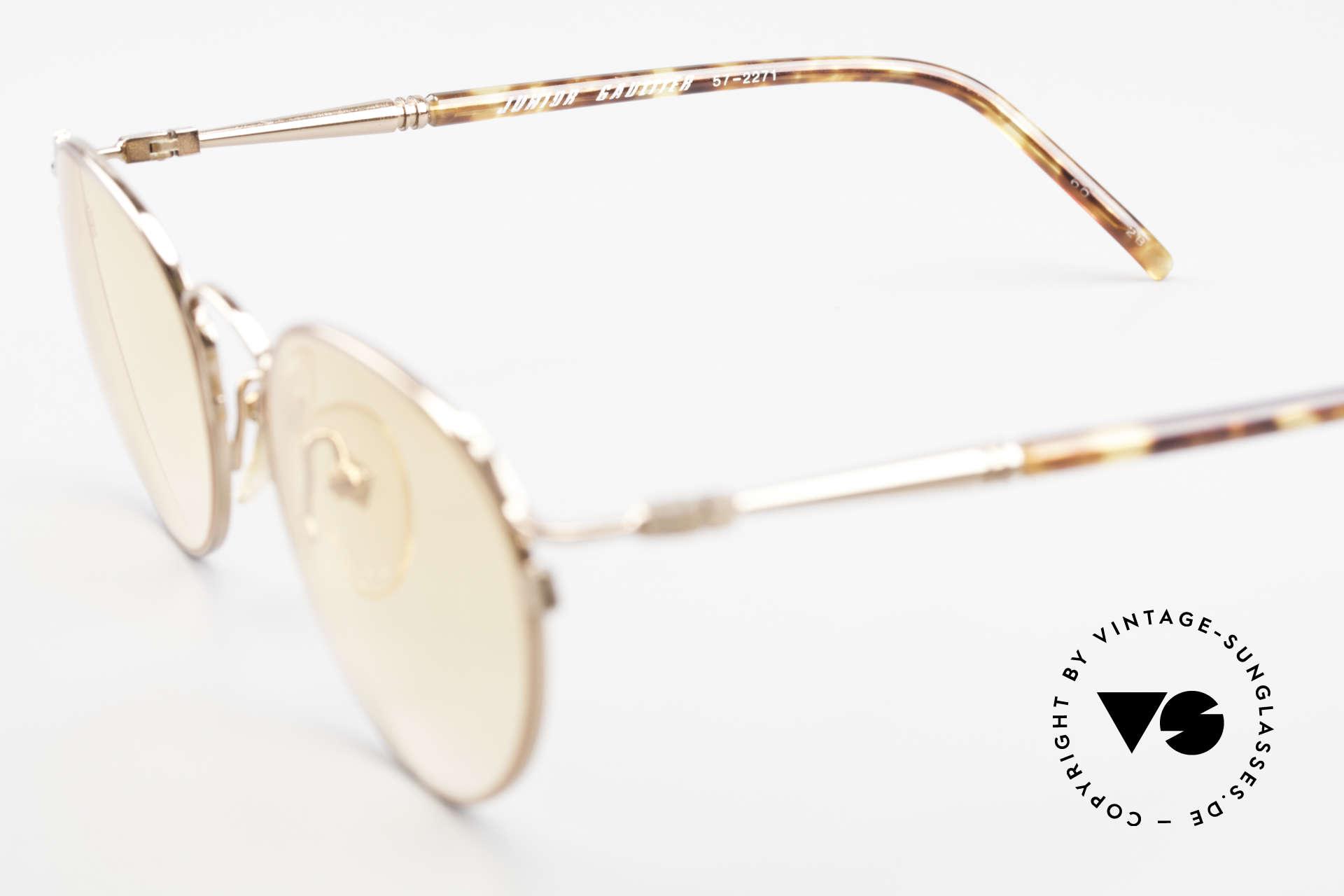 Jean Paul Gaultier 57-2271 Junior Gaultier Vintage Brille, Größe: medium, Passend für Herren und Damen