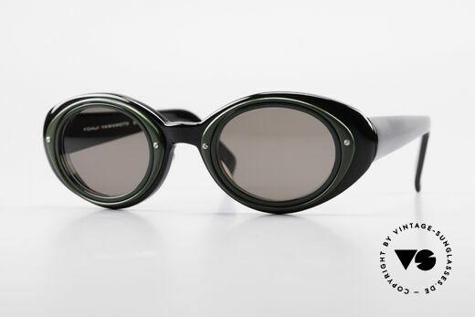 Yohji Yamamoto 52-7001 Stil Kurt Cobain Sonnenbrille Details