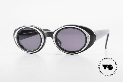 Yohji Yamamoto 52-7001 Sonnenbrille Kurt Cobain Stil Details