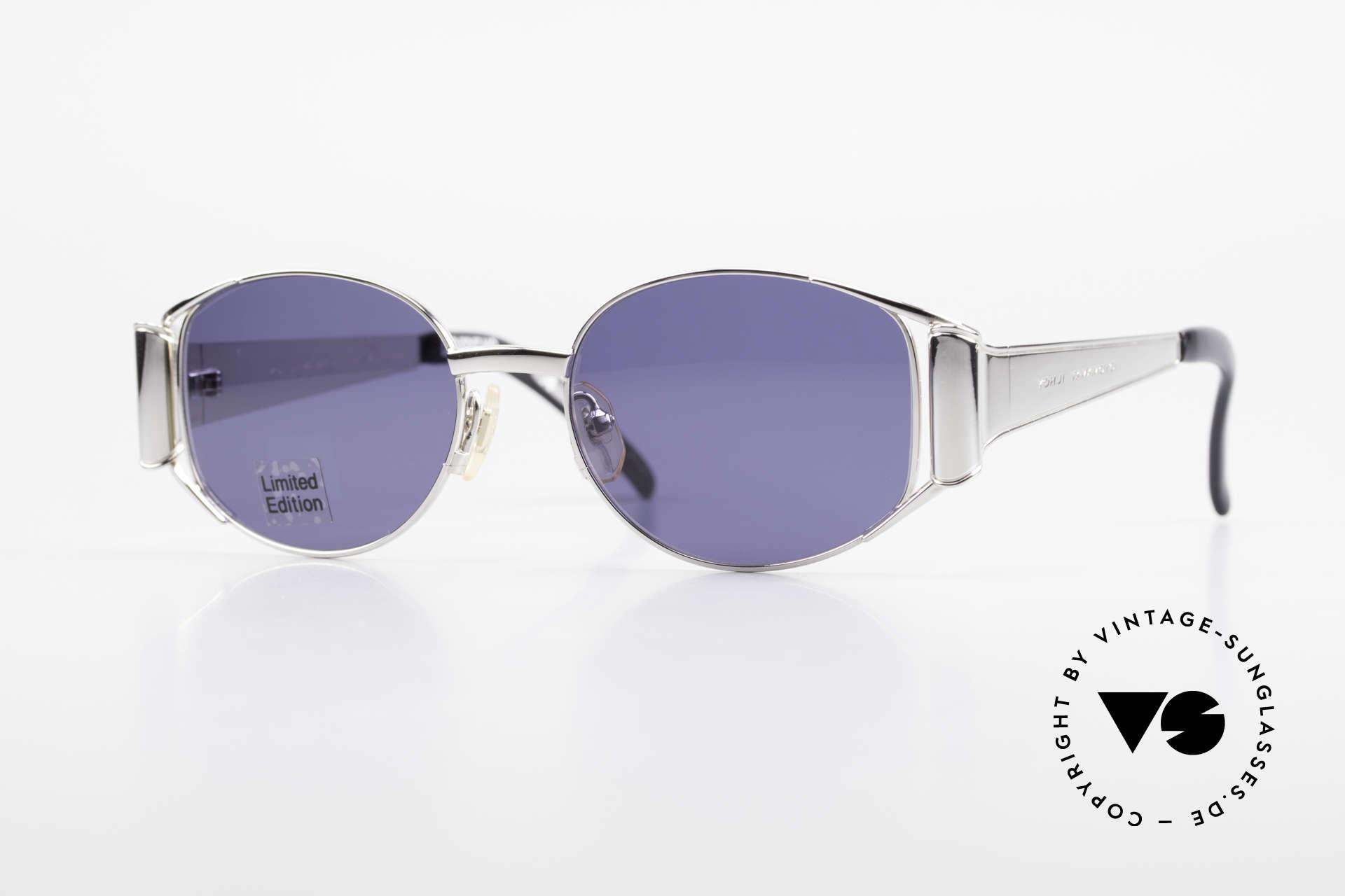 Yohji Yamamoto 52-5107 Limitierte Avantgarde Brille, einzigartige vintage Sonnenbrille von Yohji Yamamoto, Passend für Herren und Damen