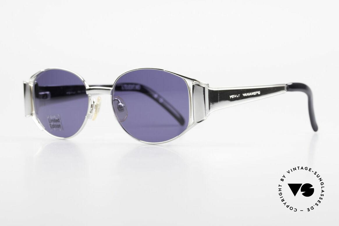 Yohji Yamamoto 52-5107 Limitierte Avantgarde Brille, sehr massive Fassung in Top-Qualität (made in Japan), Passend für Herren und Damen