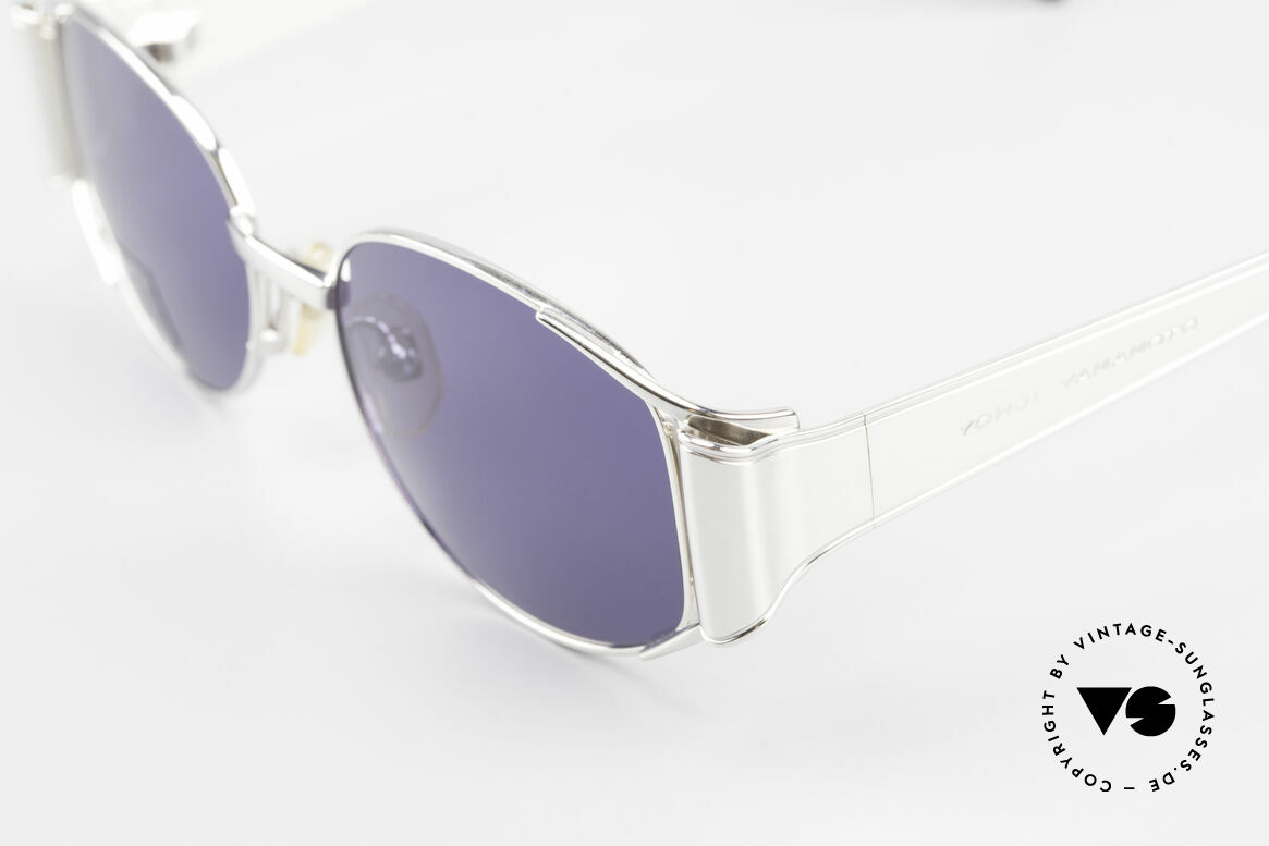 Yohji Yamamoto 52-5107 Limitierte Avantgarde Brille, Limited Edition: Nr. 40 von 700 weltweit, Sammlerstück, Passend für Herren und Damen