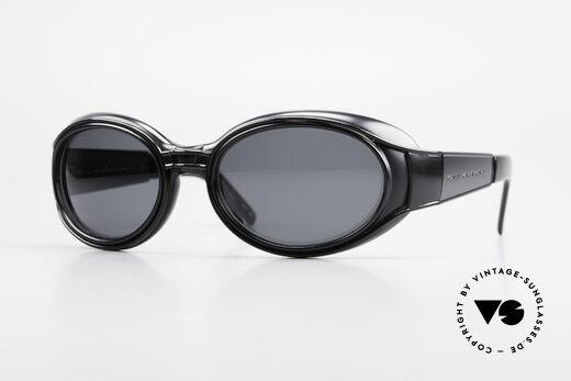 Yohji Yamamoto 52-6202 Sportliche XL Sonnenbrille Details