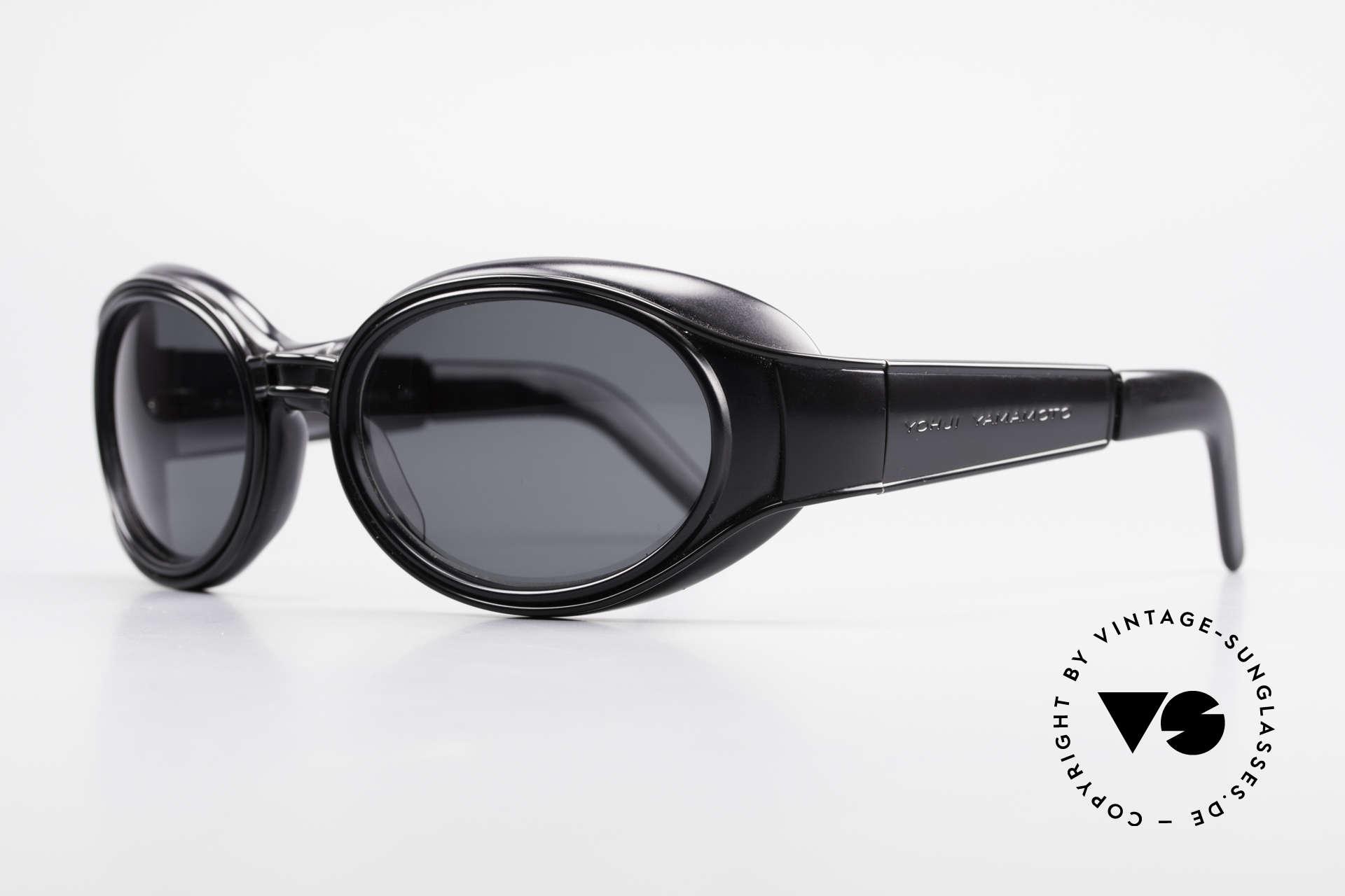 Yohji Yamamoto 52-6202 Sportliche XL Sonnenbrille, dennoch sehr sportlich & in XL-Größe (149mm breit), Passend für Herren und Damen