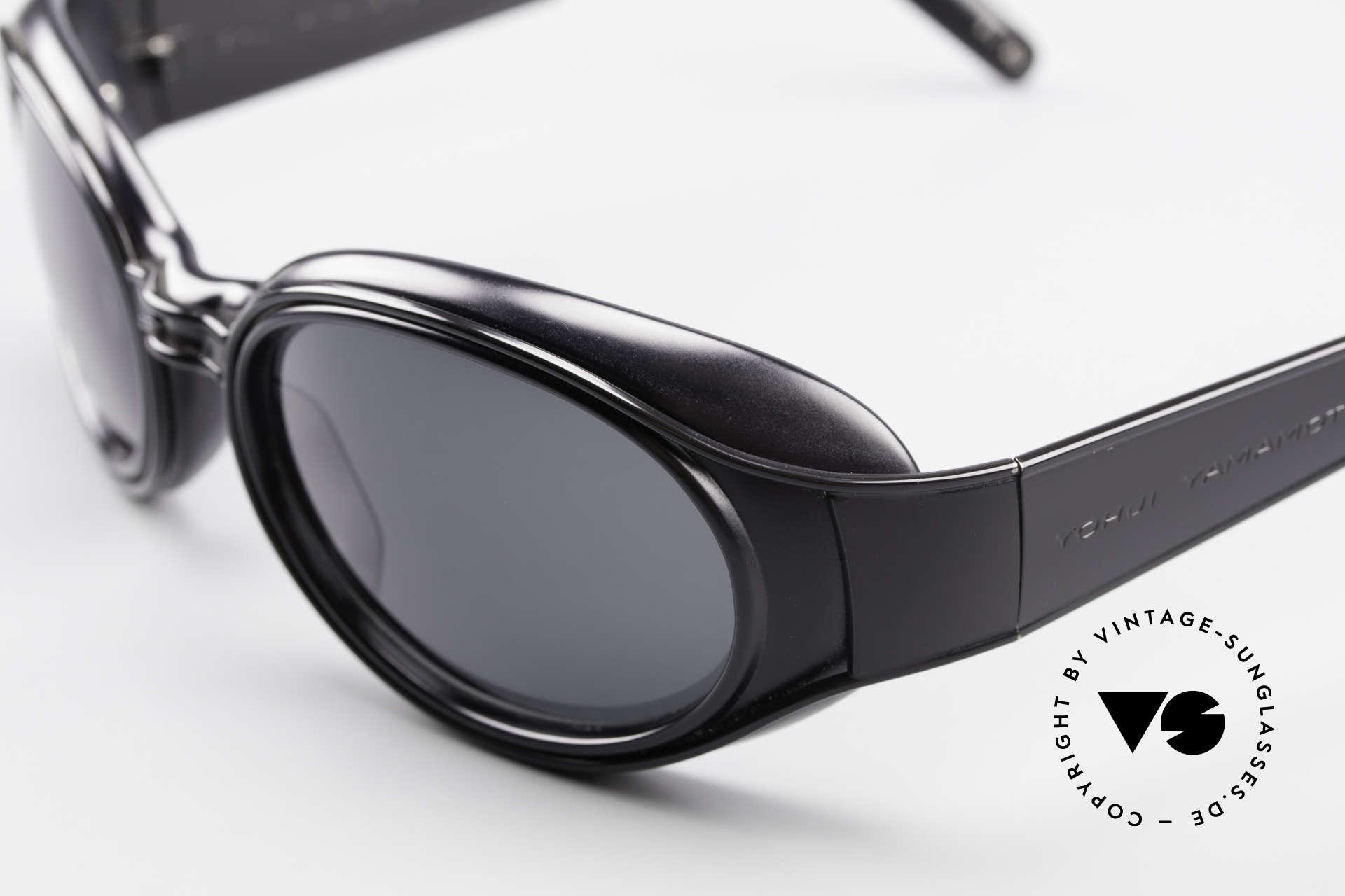 Yohji Yamamoto 52-6202 Sportliche XL Sonnenbrille, KEINE Retromode; ein Y. Yamamoto Original von 1995, Passend für Herren und Damen
