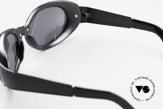 Yohji Yamamoto 52-6202 Sportliche XL Sonnenbrille, ein echter Hingucker, made in Japan, X-LARGE Größe!, Passend für Herren und Damen