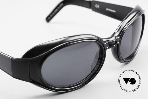 Yohji Yamamoto 52-6202 Sportliche XL Sonnenbrille, Größe: extra large, Passend für Herren und Damen
