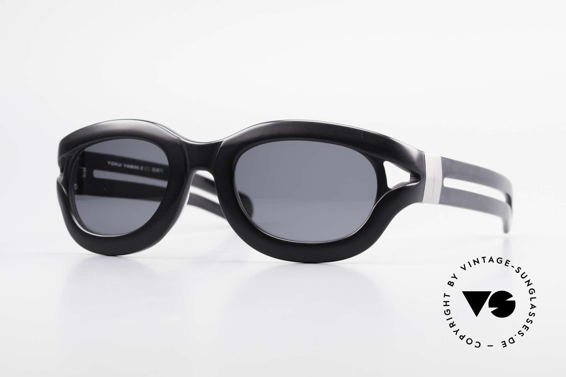 Yohji Yamamoto 52-6001 YY 90er Designer Sonnenbrille, Qualitäts-Designer-Sonnenbrille von Yohji Yamamoto, Passend für Herren und Damen