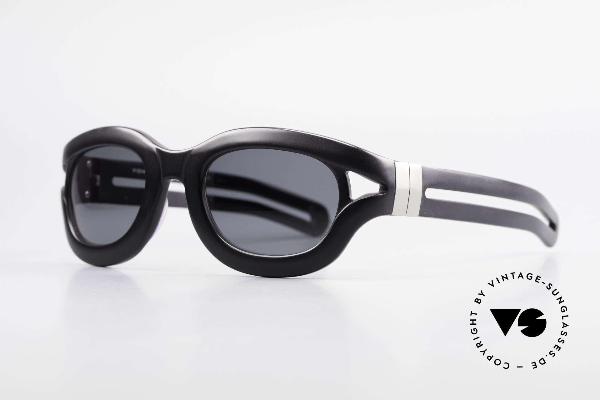 Yohji Yamamoto 52-6001 YY 90er Designer Sonnenbrille, und prächtige Designs (immer ein schicker Hingucker), Passend für Herren und Damen