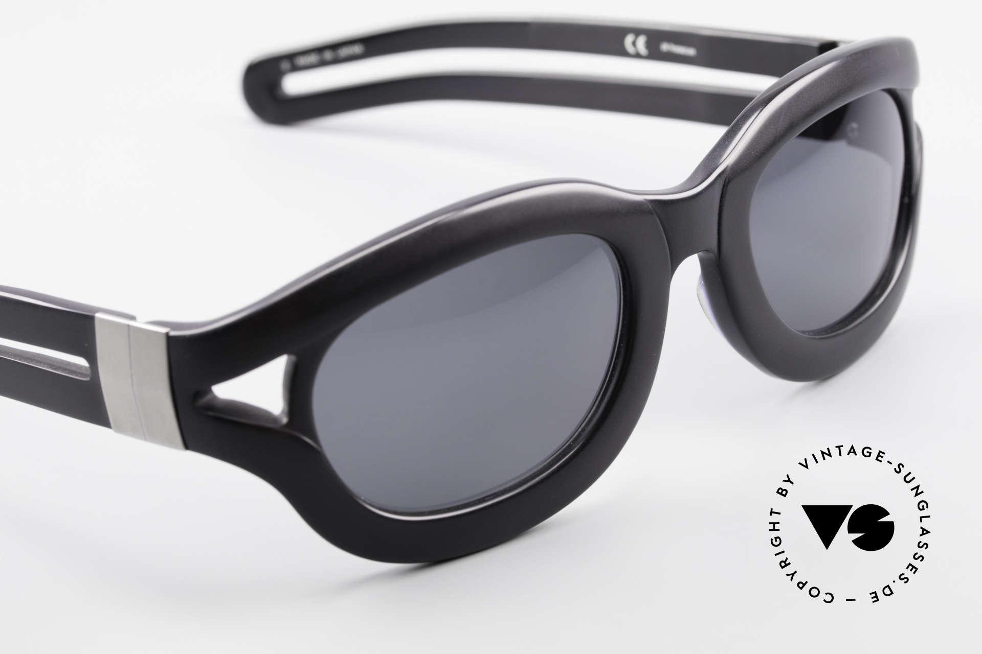 Yohji Yamamoto 52-6001 YY 90er Designer Sonnenbrille, KEINE RETROmode, sondern ein Unikat von circa 1995!, Passend für Herren und Damen