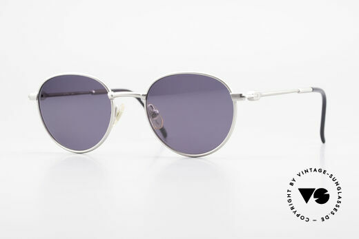 Yohji Yamamoto 52-4102 Panto Designer Sonnenbrille Details