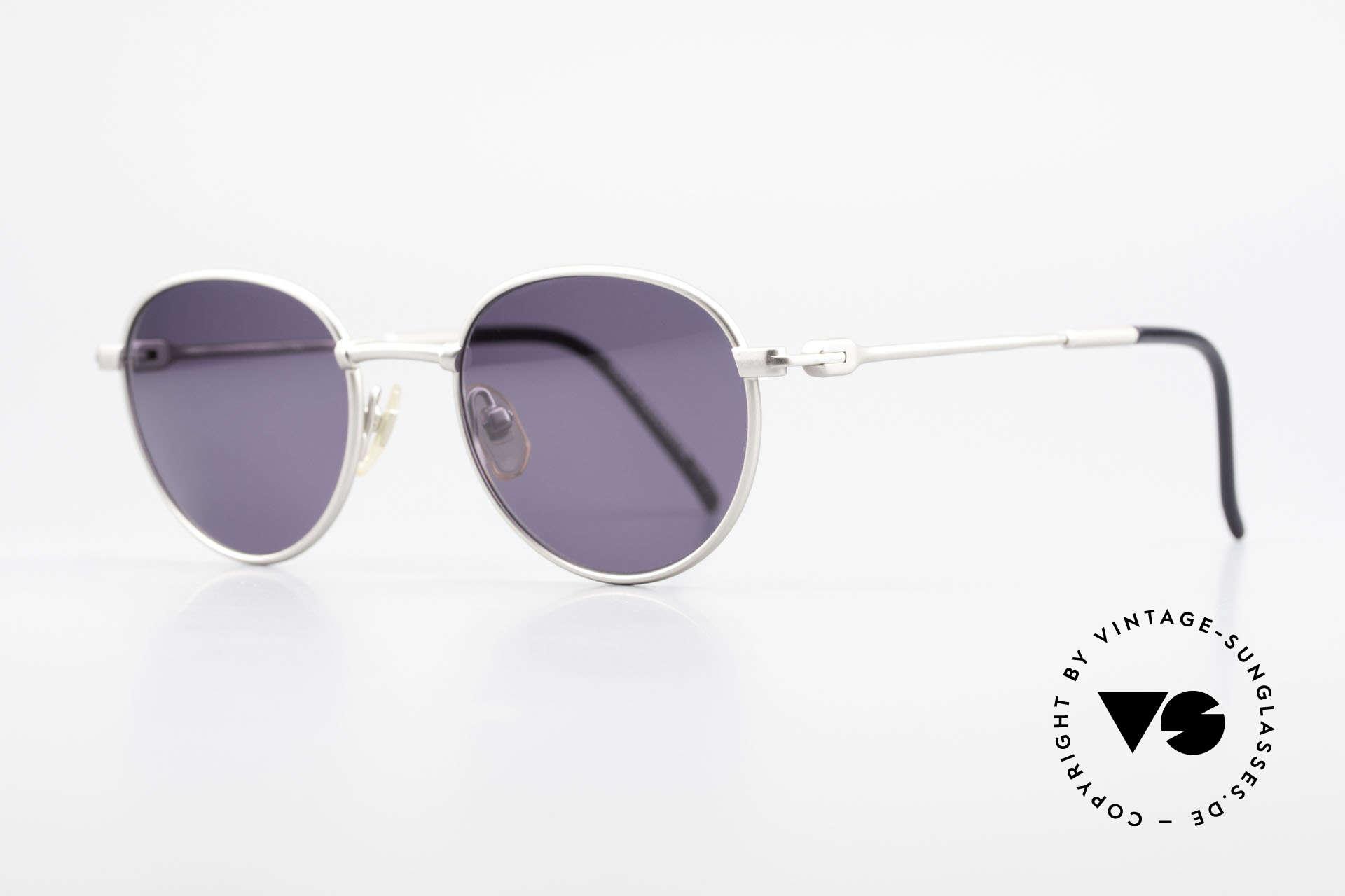 Yohji Yamamoto 52-4102 Panto Designer Sonnenbrille, zudem weltweit bekannt für hervorragende Fertigung, Passend für Herren und Damen
