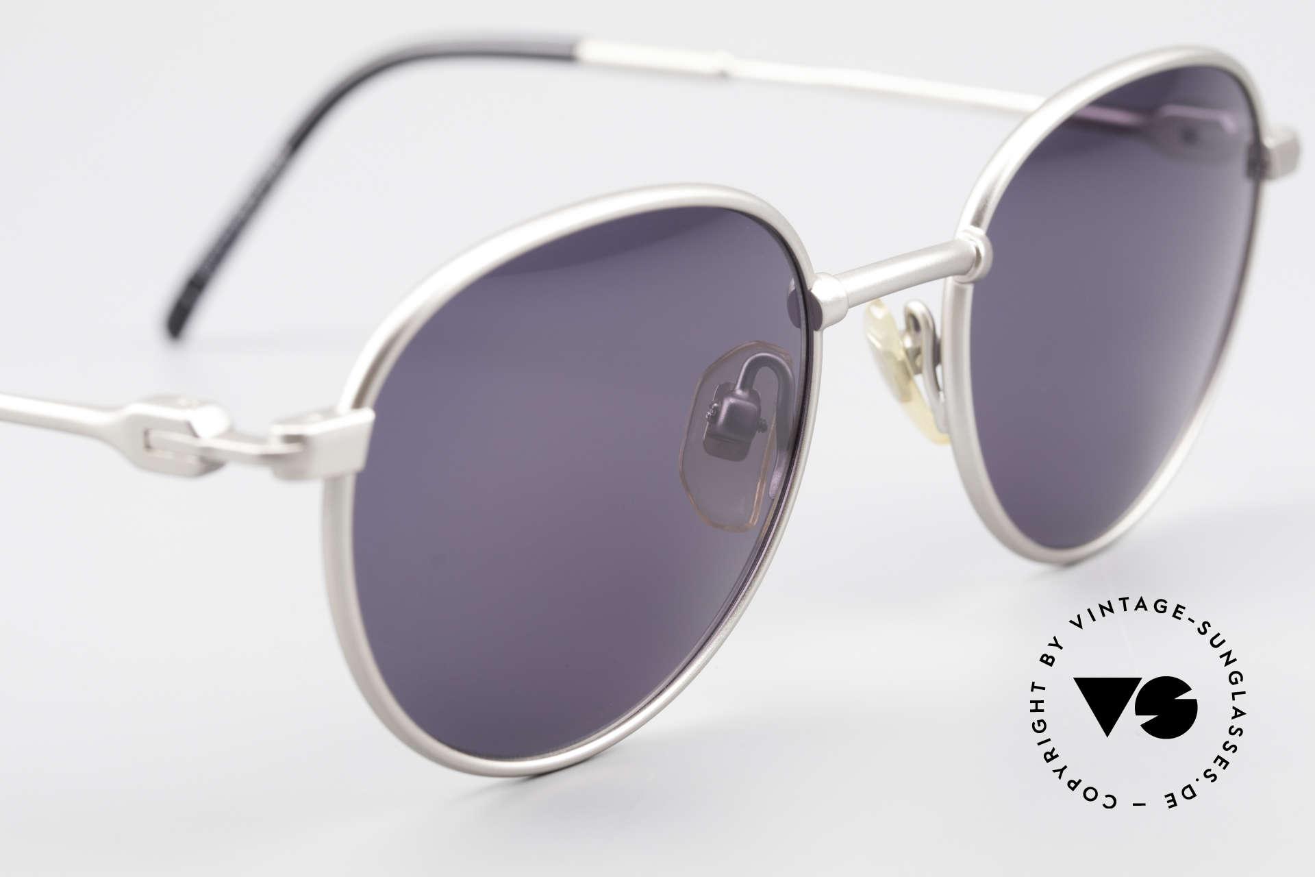 Yohji Yamamoto 52-4102 Panto Designer Sonnenbrille, KEINE RETROmode; sondern ein Original von ca. 1997, Passend für Herren und Damen