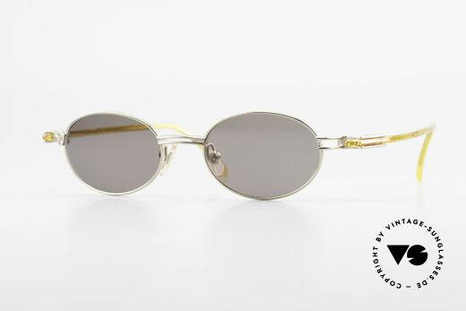 Yohji Yamamoto 52-7202 Designerbrille Oval Vintage Details