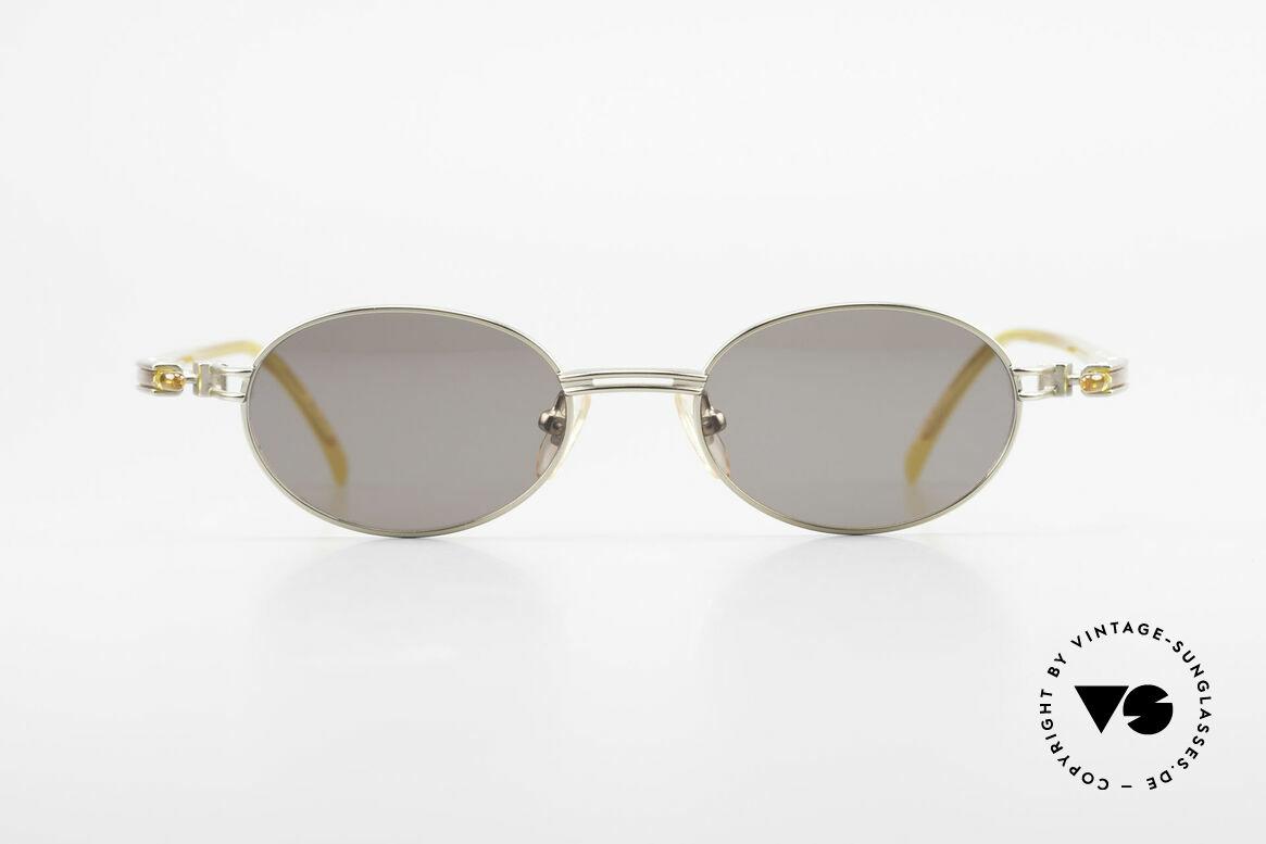 Yohji Yamamoto 52-7202 Designerbrille Oval Vintage, subtiles aber außergewöhnliches 90er Design; Avantgarde, Passend für Herren und Damen