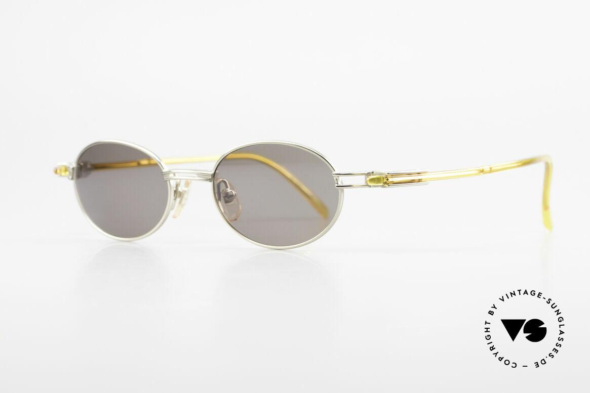 Yohji Yamamoto 52-7202 Designerbrille Oval Vintage, herausragende Qualität aller Komponenten: made in Japan, Passend für Herren und Damen
