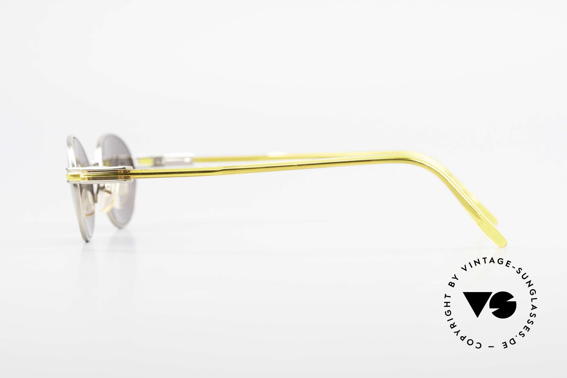 Yohji Yamamoto 52-7202 Designerbrille Oval Vintage, elegant mit raffinierten Details; eine wahre Designerbrille, Passend für Herren und Damen