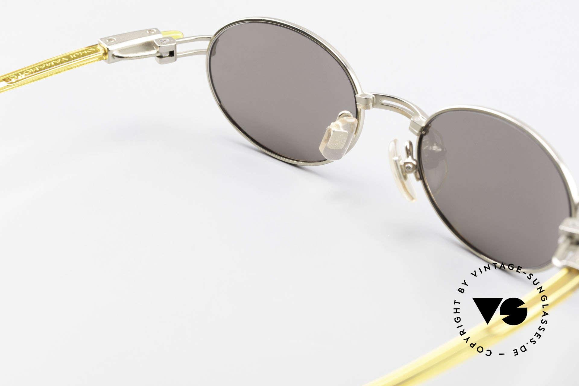 Yohji Yamamoto 52-7202 Designerbrille Oval Vintage, Größe: extra large, Passend für Herren und Damen