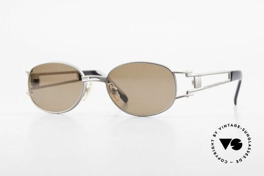Yohji Yamamoto 52-6106 Vintage Designerbrille Oval Details