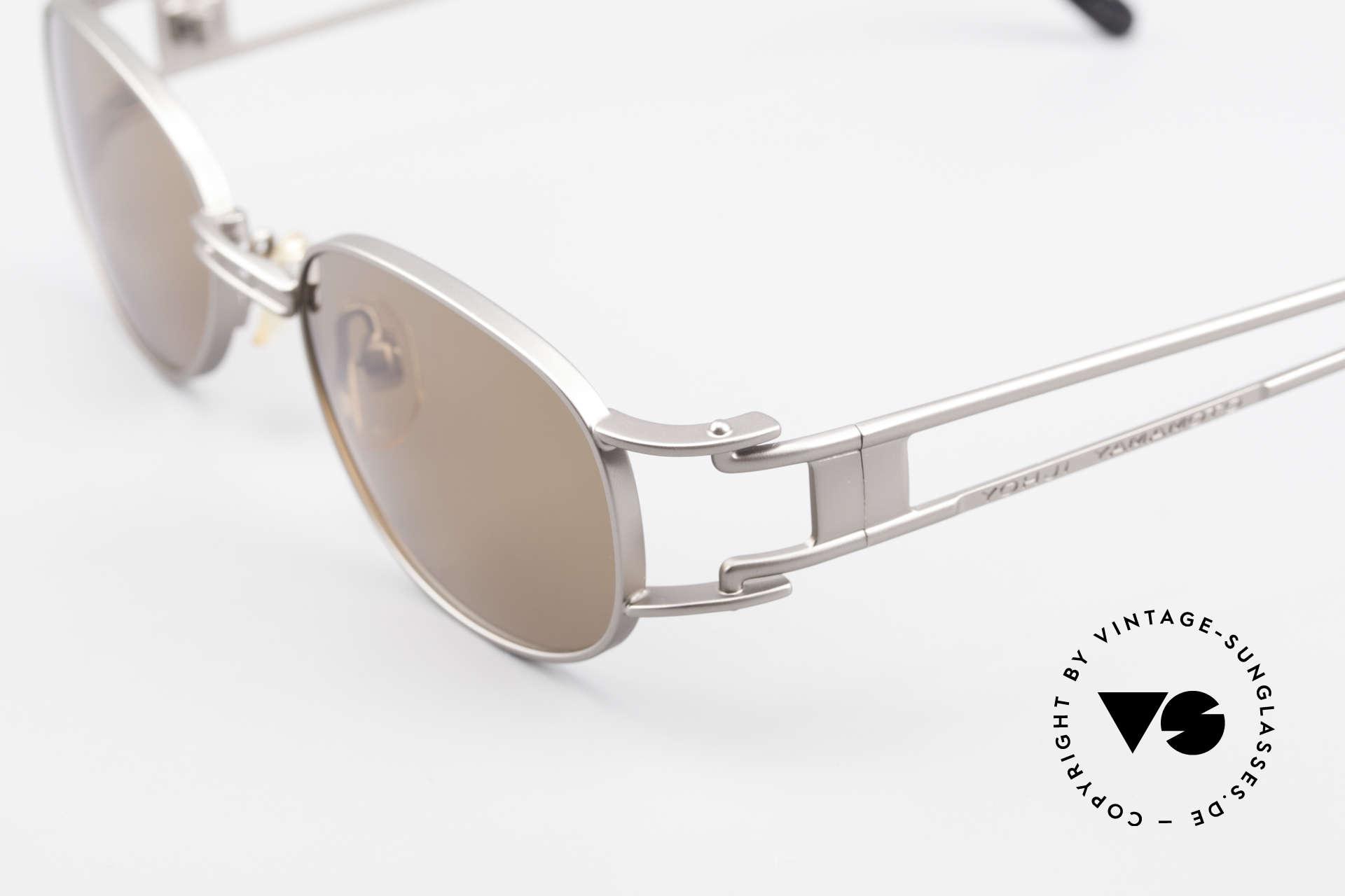 Yohji Yamamoto 52-6106 Vintage Designerbrille Oval, ungetragen (wie alle unsere vintage Design-Sonnenbrillen), Passend für Herren und Damen