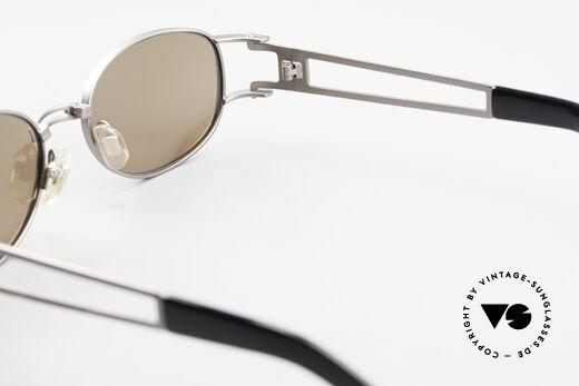 Yohji Yamamoto 52-6106 Vintage Designerbrille Oval, Größe: medium, Passend für Herren und Damen