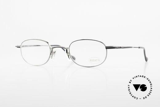 Bugatti 23562 Rare 90er Luxus Brillenfassung Details