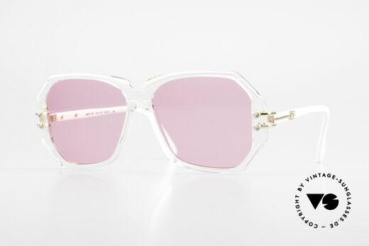Cazal 169 Pinke Designer Sonnenbrille Details