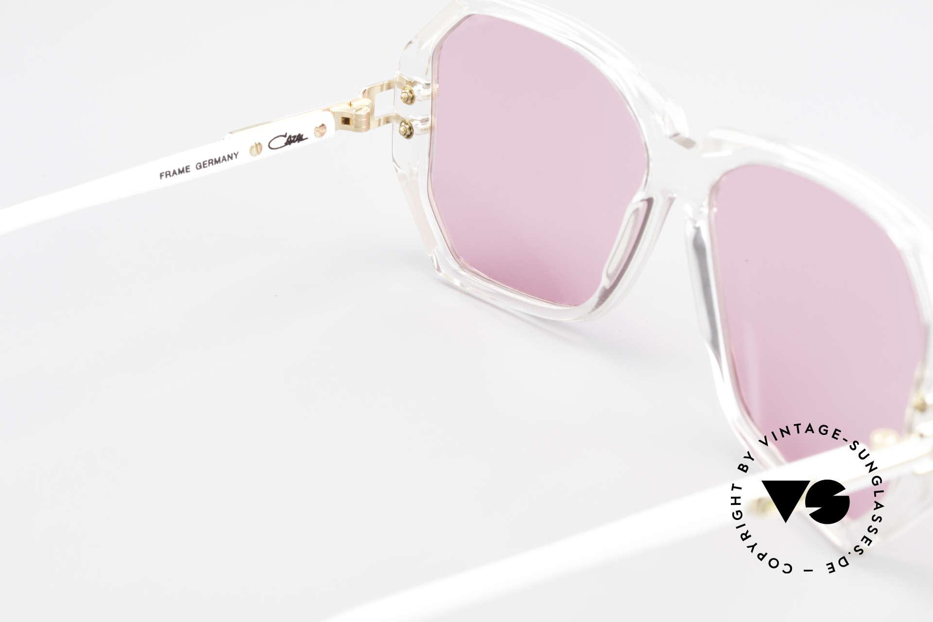 Cazal 169 Pinke Designer Sonnenbrille, KEINE Retrobrille; sondern ein ca. 28 Jahre altes Unikat, Passend für Damen
