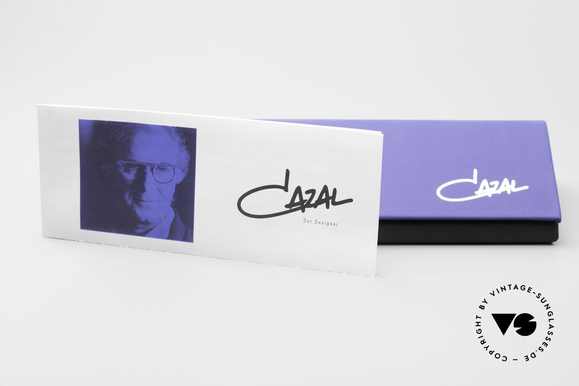 Cazal 169 Pinke Designer Sonnenbrille, Größe: medium, Passend für Damen
