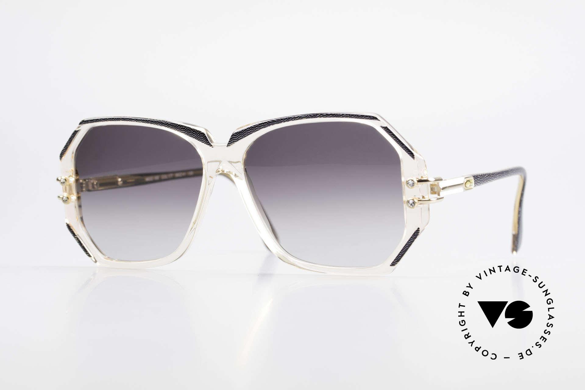 Cazal 169 Vintage Damen Sonnenbrille, extravagante vintage Designer-Sonnenbrille von Cazal, Passend für Damen