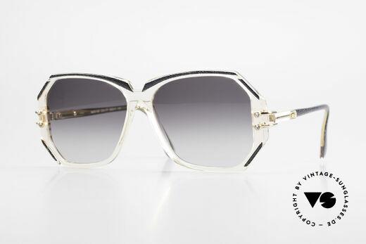 Cazal 169 Vintage Damen Sonnenbrille Details