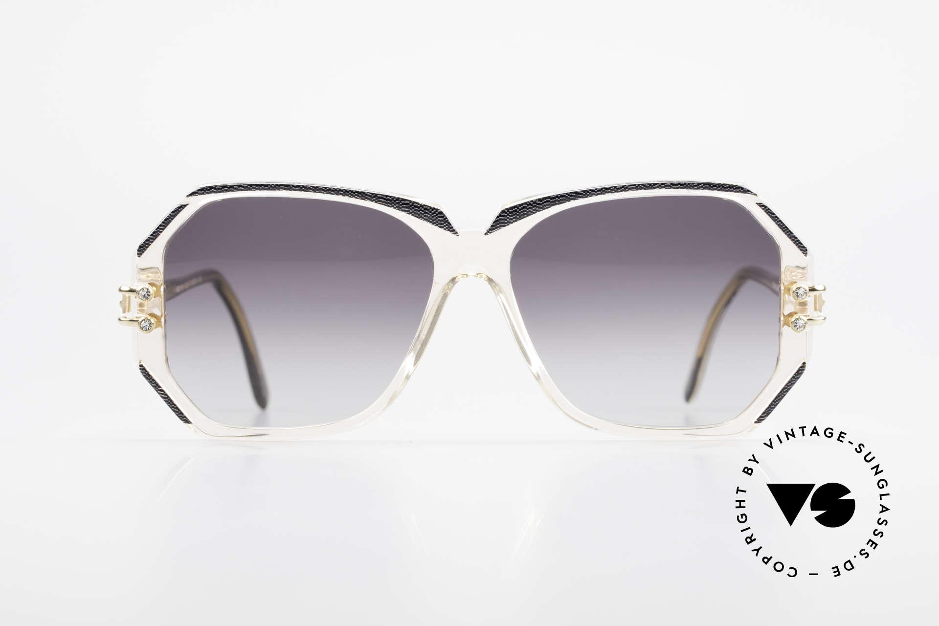 Cazal 169 Vintage Damen Sonnenbrille, 1989/90 (Frame Germany) gefertigt, MEDIUM Gr. 56-14, Passend für Damen