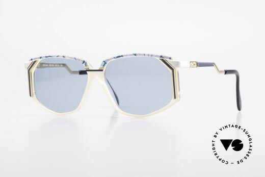 Cazal 346 Alte Hip Hop Sonnenbrille 90er Details