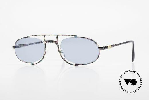 Cazal 753 Designer Sonnenbrille Oval Details