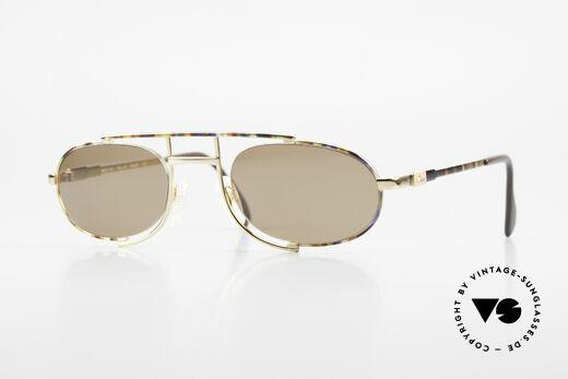 Cazal 753 Ovale Designer Sonnenbrille Details