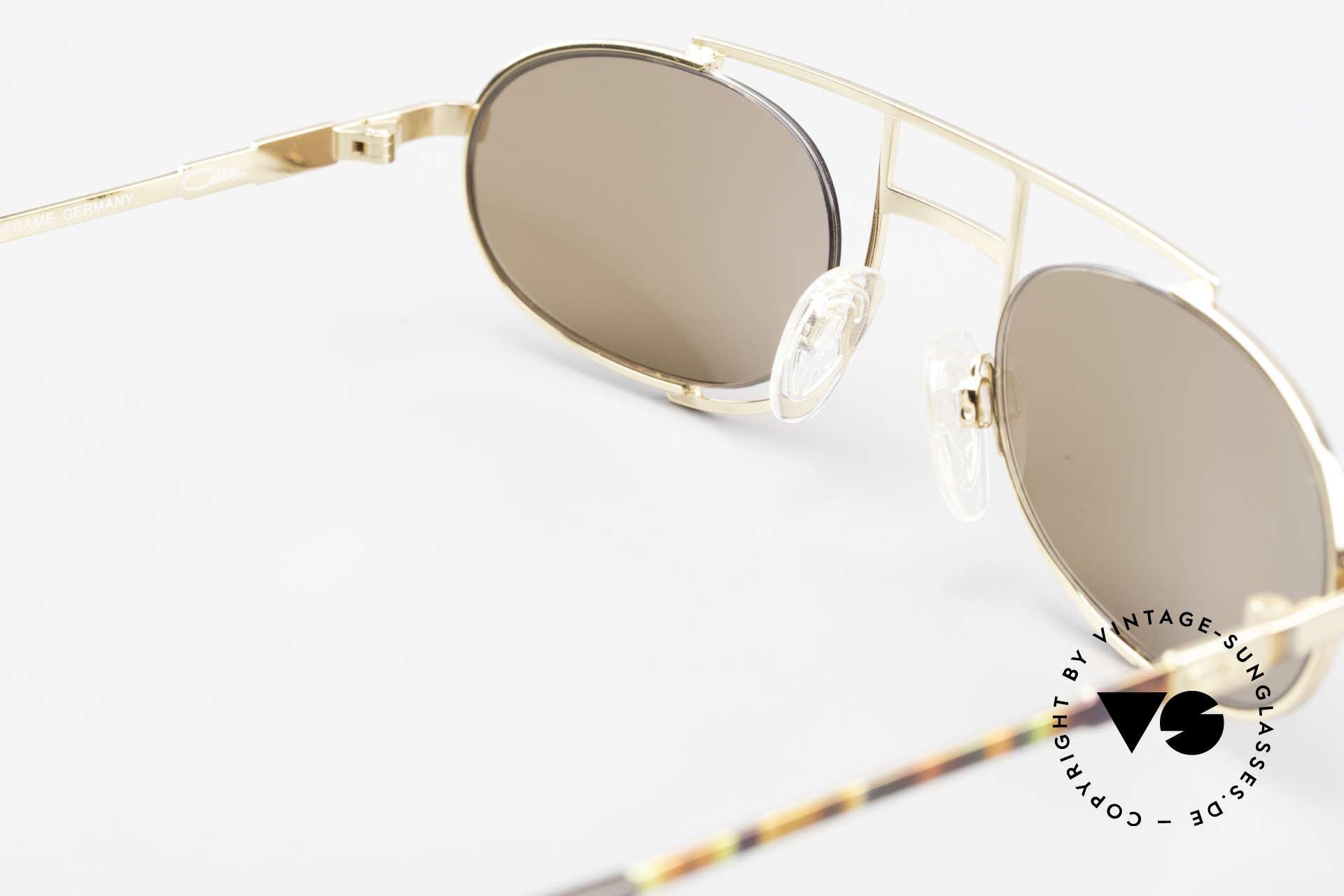 Cazal 753 Ovale Designer Sonnenbrille, ungetragen (wie all unsere alten VINTAGE CAZALS), Passend für Herren