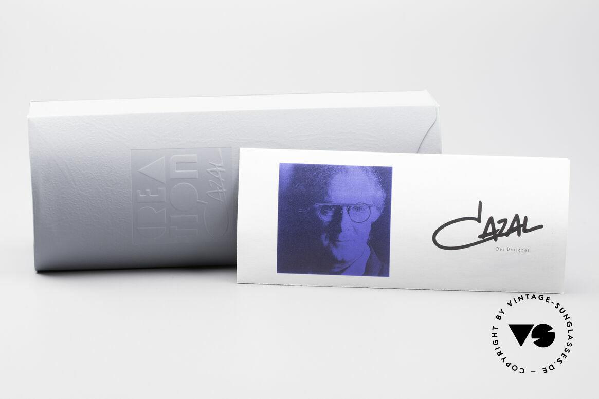 Cazal 753 Ovale Designer Sonnenbrille, KEIN RETRO, sondern ein 25 Jahre altes ORIGINAL!, Passend für Herren