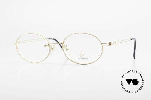 Yohji Yamamoto 51-5107 Designerbrille Oval Vergoldet Details