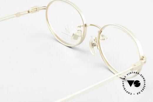 Yohji Yamamoto 51-5107 Designerbrille Oval Vergoldet, Größe: medium, Passend für Herren und Damen