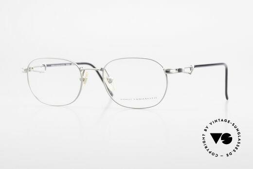 Yohji Yamamoto 51-4113 Titan Designerbrille Vintage Details