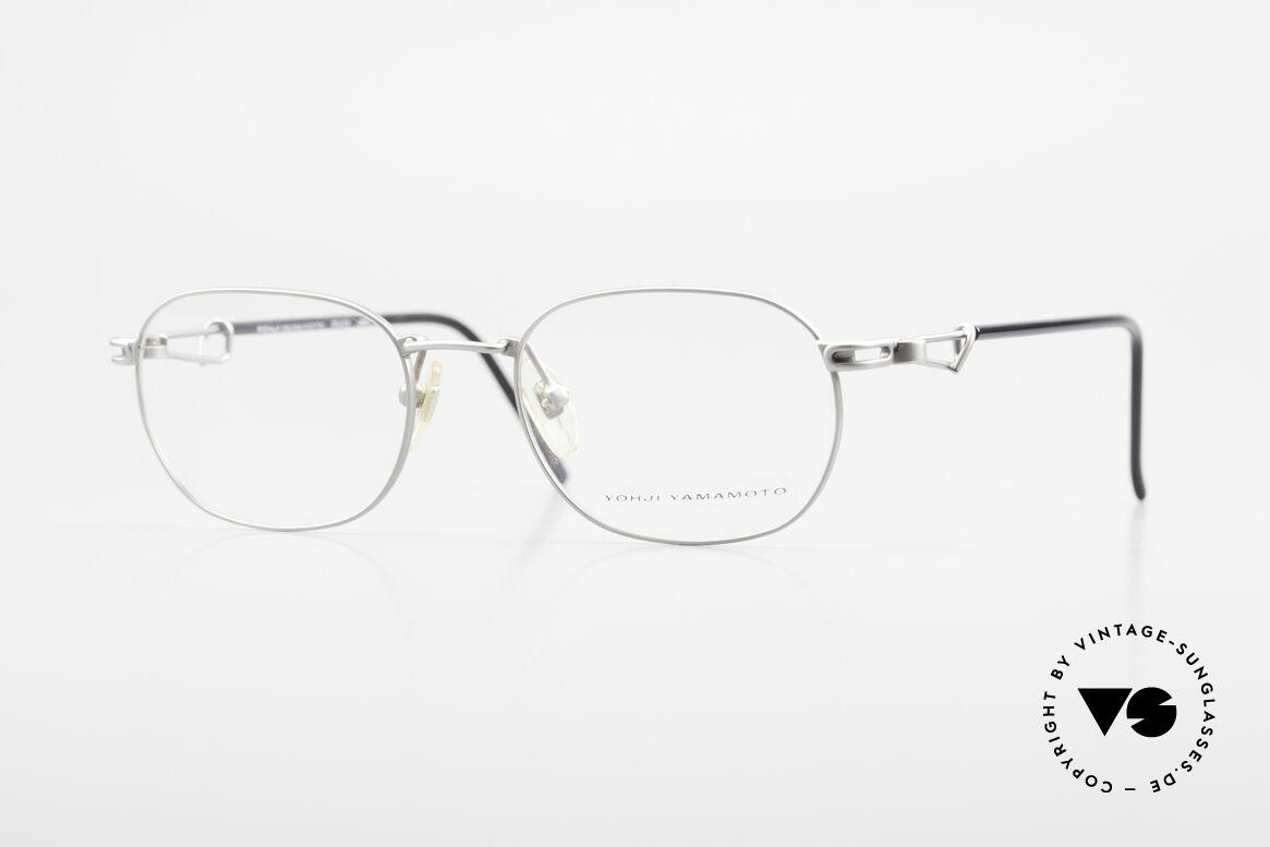 Yohji Yamamoto 51-4113 Titan Designerbrille Vintage, rare 90er Titanium Yohji Yamamoto Designer-Brille, Passend für Herren und Damen