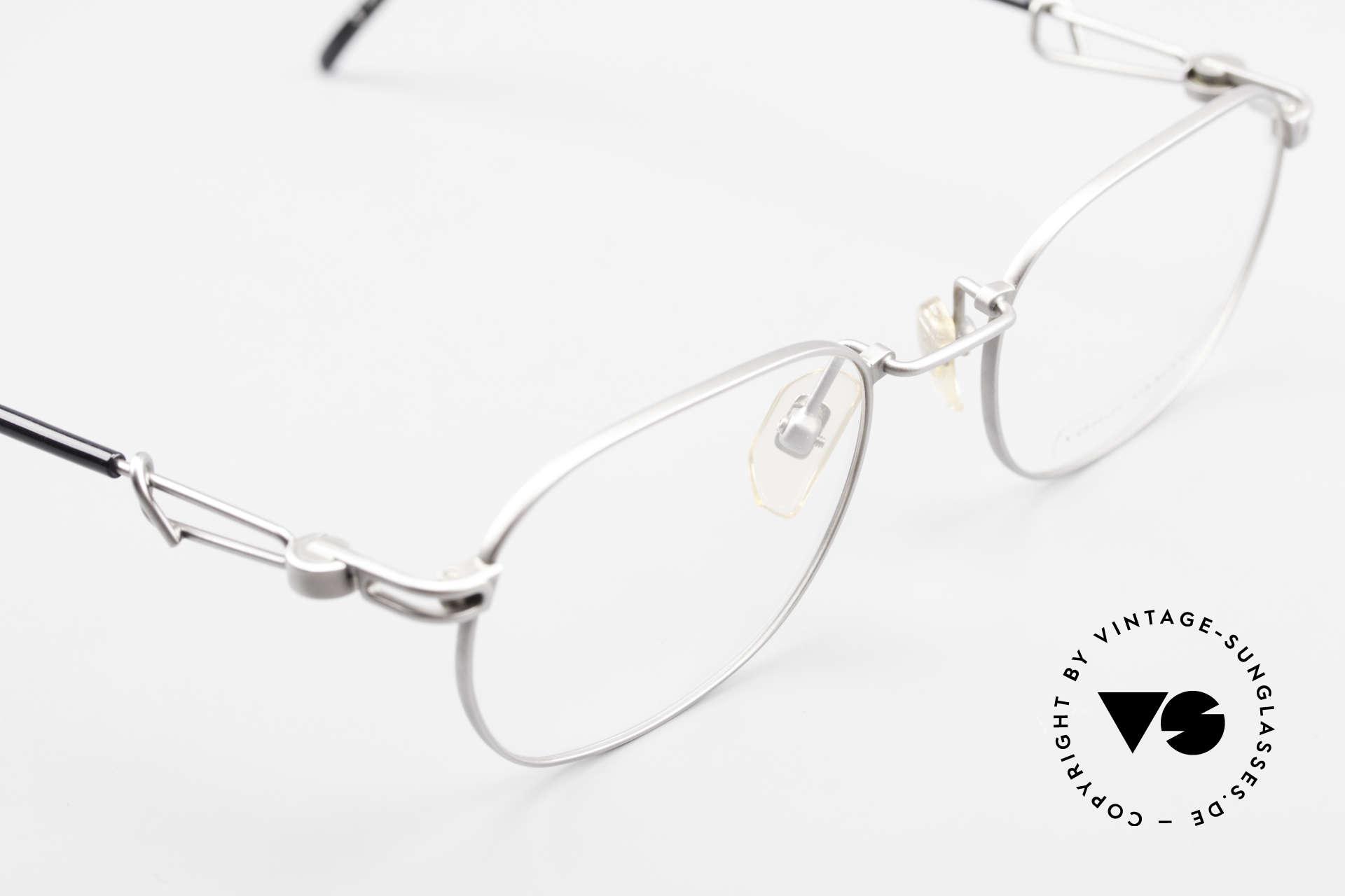Yohji Yamamoto 51-4113 Titan Designerbrille Vintage, Fassung ist beliebig verglasbar (optisch oder Sonne), Passend für Herren und Damen