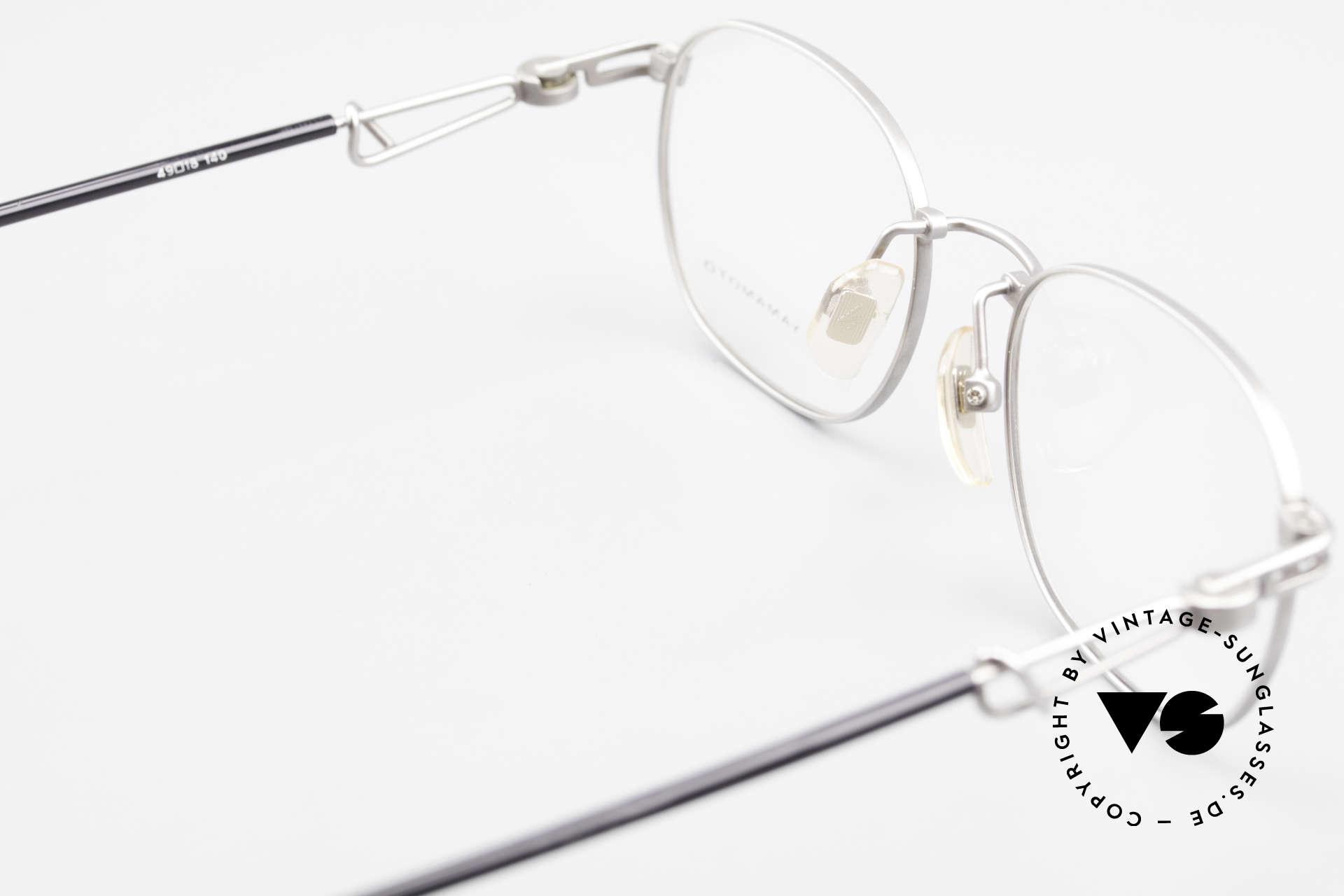 Yohji Yamamoto 51-4113 Titan Designerbrille Vintage, Größe: small, Passend für Herren und Damen