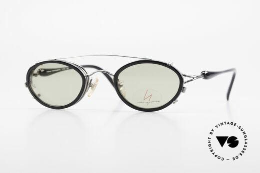 Yohji Yamamoto 51-7210 No Retro Brille Clip-On 90er Details